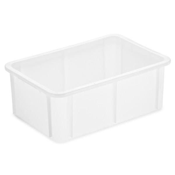 Stapelbehälter 59 x 39 cm, weiß