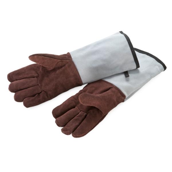 Backhandschuhe, Leder