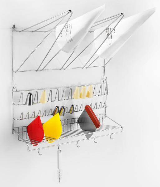 Wandaufhänger für Spritzbeutel und Kleinteile