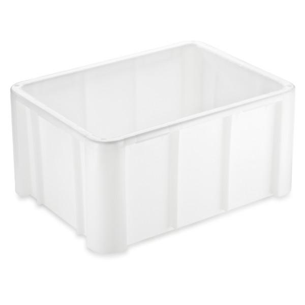 Stapelbehälter, weiß, extra schwere Qualität