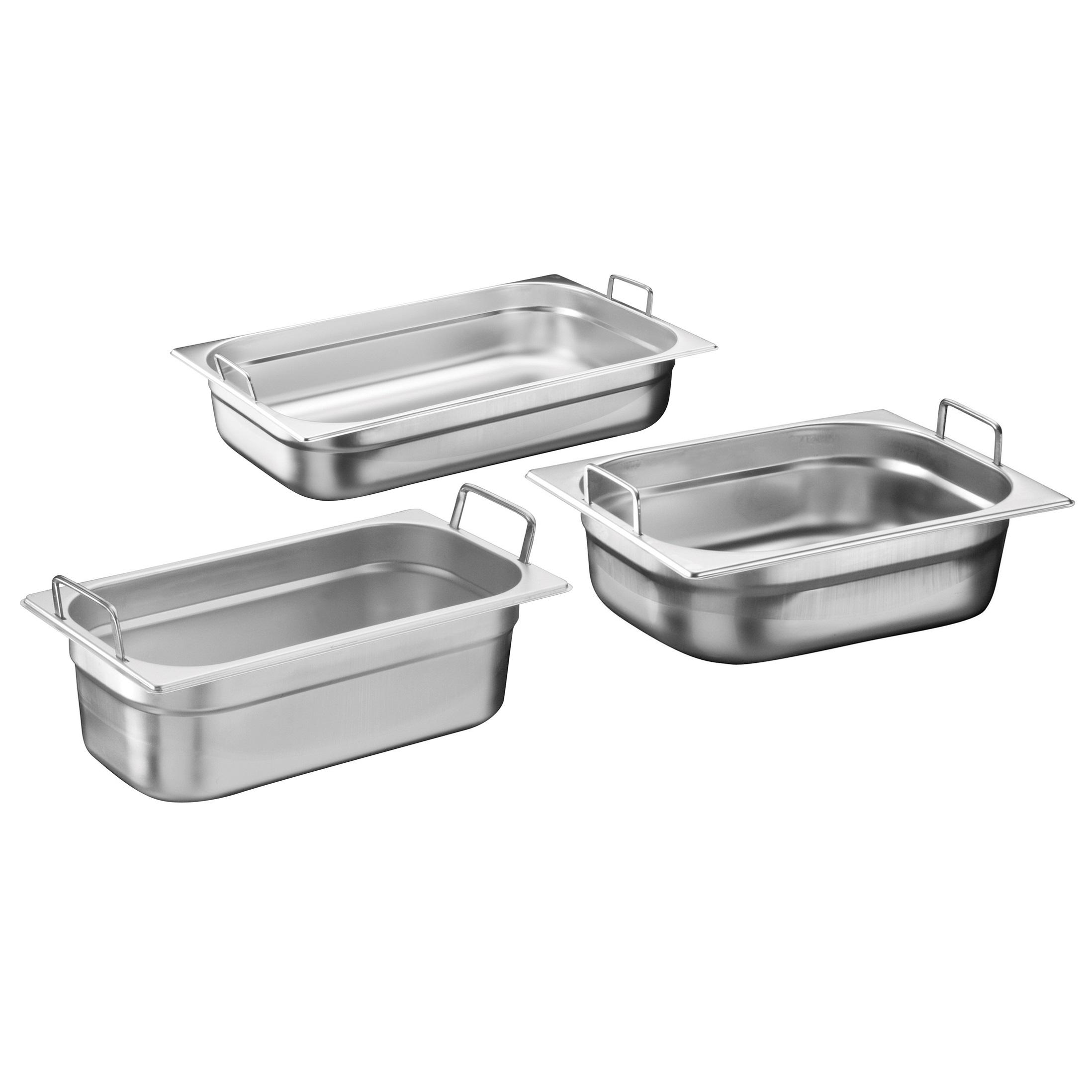 Gastronorm-Behälter aus Edelstahl